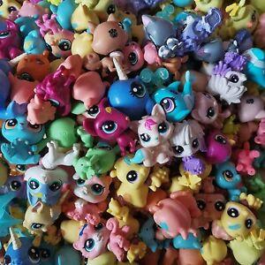 Little pet shop LPS Figures bundle Cats,Dogs,Rabbits,Pigs,Fish,Monkeys,20PCS