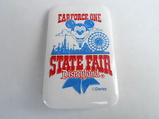 VINTAGE PROMO PINBACK BUTTON #109-111 - EARFORCE ONE - STATE FAIR DISNEYLAND