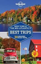 Lonely Planet New York & the Mid-Atlantic's Best Trips (Trips Country)-ExLibrary