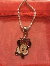 Hecho a mano de Disney Inspirado Minnie Mouse Collar Regalo de Navidad Stocking Relleno