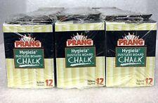 PRANG Hygieia Yellow 31344 Dustless Board Chalk 36 Boxes Sealed 432 Total Pieces