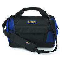 Irwin Tool Bag 400mm 16'' Foundation Series Bag Zippered Closed Sholder Strap