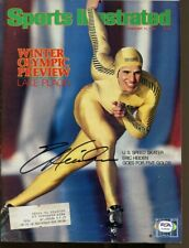 Eric Heiden Signed 1980 Sports Illustrated 2/11 Autographed Olympics PSA/DNA