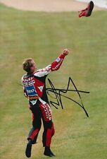 Carl Fogarty Hand Signed 12x8 Photo Ducati Superbikes.