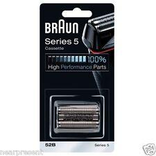 Braun Cassette Kassette 52B Klinge +Scherfolie Rasierer Serie 5 neu schw Wwide