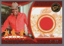 2006 Press Pass Elvis Lives Platinum Elvis Presley Worn Red Shirt #51/99