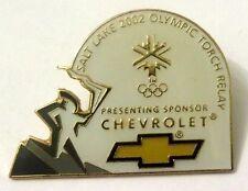 Pin Spilla Olimpiadi Salt Lake City 2002-Olympic Torch Relay Sponsor Chevrolet