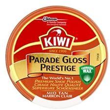 Kiwi Parade Gloss Shoe Polish Mid Tan 50ml
