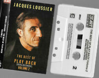 cassette tape Jacques Loussier - the best of PLAY BACH  volume 2