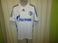 "FC Schalke 04 Original Adidas Auswärts Trikot 2007/08 ""GAZPROM"" Gr.M"