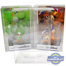 2 x Box Protectors for Nintendo Amiibo Original STRONG 0.5m Plastic Display Case