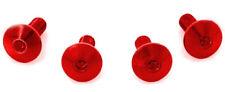 Schrauben (4) Rot Ergal Spezifikation für die Befestigung Scheibe Windschild K