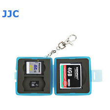 JJC MC-8B Memory Card Case fits 1CF 2 SD 2 MSD 5D 1DX D7200 D5 D4 D800 D610 D700
