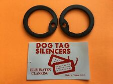 Dog tag silencer elimate clanking disaster tactical bugoutbag  ROTHCO prepper