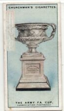 The Army Football Association Cup England Soccer 1920s Ad Trade Card