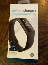 Fitbit Charge 4 Fitness Activity Tracker - Built-In GPS, Touchscreen, Swim Proof