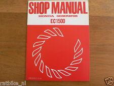 HONDA EC1500  SHOP MANUAL FACTORY BOOK GENERATOR POWER