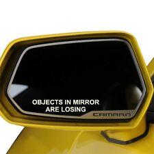 2x Objects In Mirror Are Losing Vinyl Decal Sticker Camaro Mirror Mustang Honda