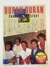 Vintage Duran Duran Japanese Photo Story magazine book Japan 1983 Seven Tiger