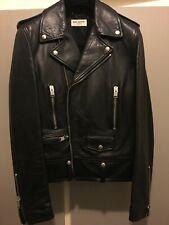 SAINT LAURENT PARIS AW13 First Release Slim Fit Iconic L01 Leather Jacket L17