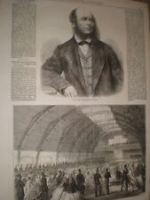 Late Wingrove Cooke China journalist & 1st Surrey volunteers HQ Camberwell 1865