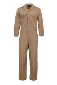 Kolossus Deluxe Long Sleeve Cotton Blend Coverall Multi Pockets KC03I20