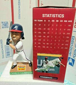 Charlie Culberson Rome Braves 2021 Bobblehead SGA Atlanta - NEW IN BOX