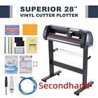 "Secondhand 28"" Vinyl Cutter Sign Cutting Machine w/ Software+2 Blades LCD screen"