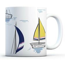 Awesome Sailing Boats - Drinks Mug Cup Kitchen Birthday Office Fun Gift #12321