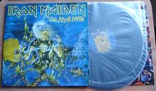 IRON MAIDEN LIVE AFTER DEATH 2XLP 1985 UK EMI A2B2A1B1 NWOBHM UNSPLIT INNERS