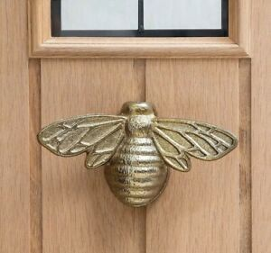 Gold Bumble Bee Door Knocker Brand New, Elegant Design, Heavy Duty