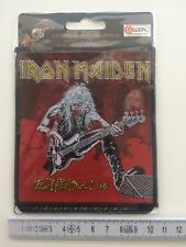 IRON MAIDEN-Fear of the Dark Live ricamate/patch (a real Heavy Metal raccolta)
