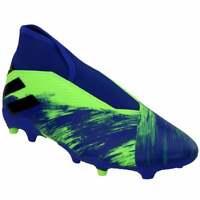 adidas Nemeziz 19.3 Laceless Firm Ground   Mens Soccer Cleats     - Green - Size