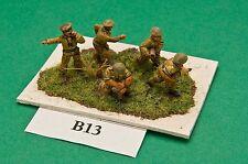 SGTS MESS BI13 1/72 Diecast WWII British Artillery Crew