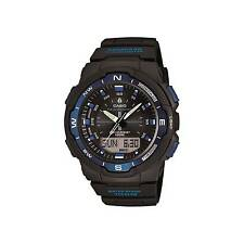 Casio Sgw500h-2b Mens Twin Sensor 100m Digital Sports Watch Compass Thermometer