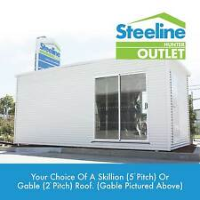 COLORBOND® Kit Shed / Granny Flat / Retreat - 3.0m x 6.0m