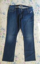 Women's OLD NAVY Jeans 2X The Dreamer 42 x 36 Blue Jeans Size 20 TALL NEW