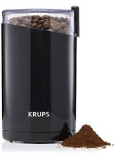 kRups Kf203 Electric Spice and Coffee Grinder Stainless Blades New Open Box