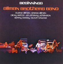 The Allman Brothers Band Beginnings CD NEW SEALED