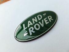 LARGE LAND ROVER FRONT/ REAR GREEN BADGE DISCOVERY 105MM