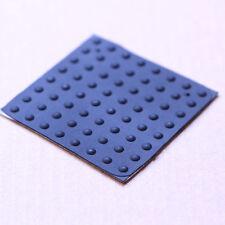 Tiny Hemispheric Self-Adhesive Rubber Feet Bumpers(64pcs)BLACK,3.5mm D X 1.5mm H