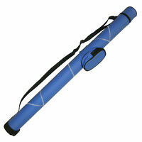 Blue White 1X1 Hard Pool Cue - Billiard Stick Carrying Case 1 x 1
