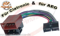 AEG / PROLOGY CLATRONIC Autoradio Kabel Adapter ISO PROLOGY 20 pin CMD-120 CS-FM