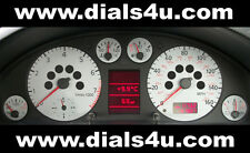 AUDI A4 (B5) With Warning Lights (1994-1997) - 140mph / 160mph - WHITE DIAL KIT