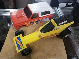 Vintage 1976 Mattel Power Shifters Quick Change Machine Blazer & Dragster