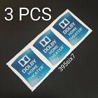 3x DOLBY HOME THEATER V3 Sticker 14.5mm x 18.5mm
