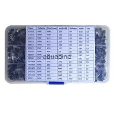 750x General Transistor Assortment Box Silicone Rubber IC Durable DIY Parts