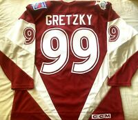 Wayne Gretzky 1999 NHL All-Star Game authentic CCM stitched 99 jersey NY Rangers