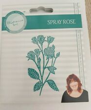Tattered Lace Stephanie's Signature Collection SPRAY ROSE cutting die 490201