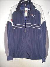LOT of 4 Reebok Patriots Windbreaker Jacket Sports Illustrated NFL Shirts Patch